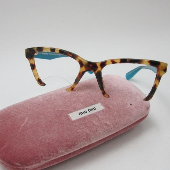 4913e1633d05 Miu Miu VMU 04N 7SO-1O1 Eyeglasses  Italy OLO117. M 5b27c73c9539f7aff38092bf